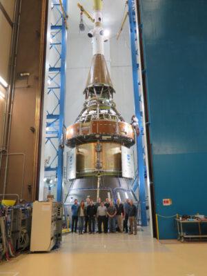 Kvalifikační exemplář Orionu, únor
