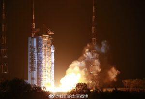 Dlouhý pochod 4C startuje s družicí Gaofen 5.