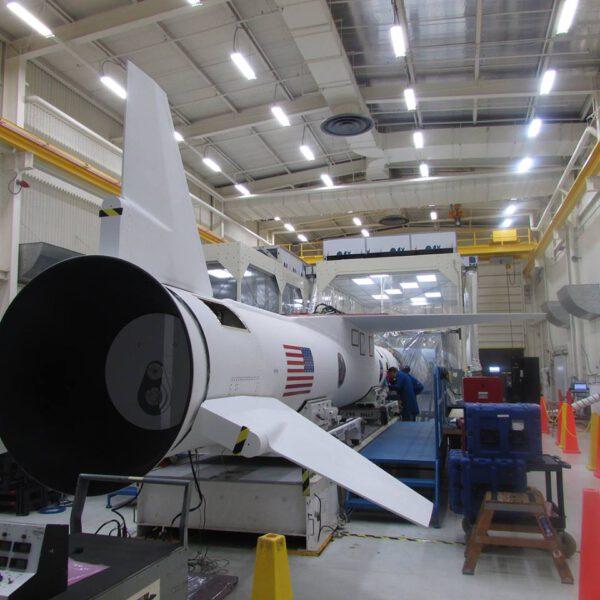 Příprava rakety Pegasus.