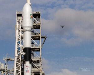 Horní část Falconu 9 Block 5 pro misi Bangabandhu-1