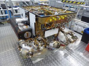Strukturální model roveru pro misi ExoMars