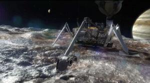 Vizualizace landeru na Europě