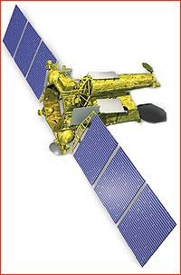 Vizualizace teleskopu Spektr-RG.
