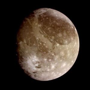 Měsíc Ganymed