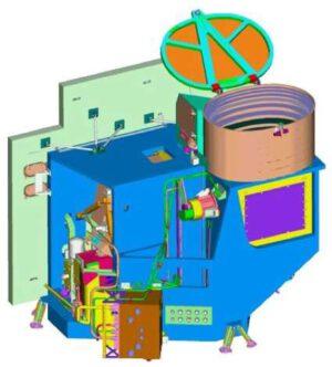 Vizualizace přístroje ABI.