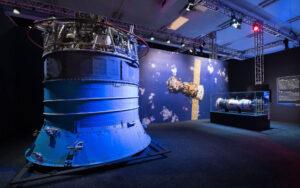 Servisní modul lodi Sojuz.