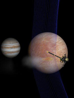 Anomálie, které zaznamenala sonda Galileo nad Europou