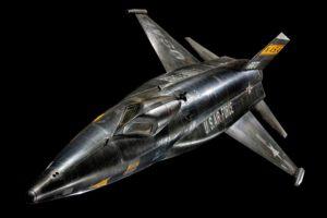 North American X-15 byl nadčasový raketový letoun, který je považován za první raketoplán vůbec, protože létal až na hranici vesmíru.