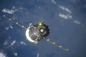 Sojuz MS-09 přilétá k Mezinárodní kosmické stanici