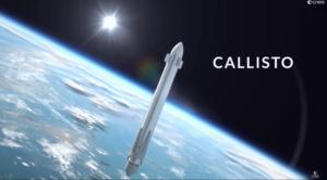 Znovupoužitelný testovací systém Callisto je koncept na kterém společně pracuje CNES a DLR. První let je zatím plánován na rok 2020.