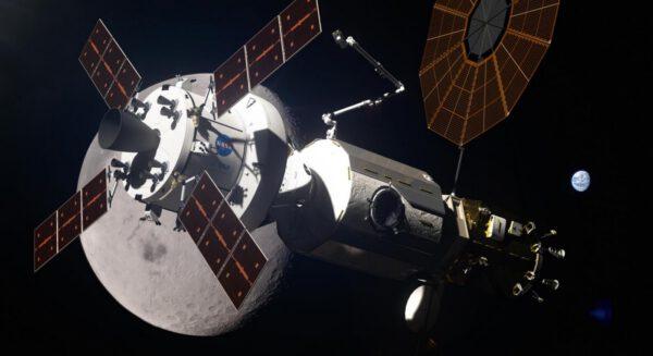 Tématem byla i stanice u Měsíce