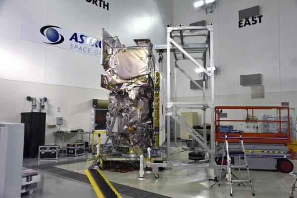 ICESat-2 na Vandenbergově základně.