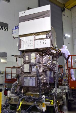 Družice ICESat-2 na Vandenbergově základně.
