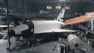 Testovací exemplář raketoplánu Buran s označením OK-GLI v německém technickém museu Špýr je nejzachovalejším pozůstatkem po této kosmické lodi.