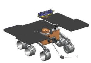 Teoretická podoba vozítka Sampe Fetch Rover pro misi Mars Sample Return