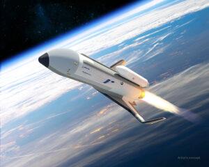 Vizualizace letu XSP.