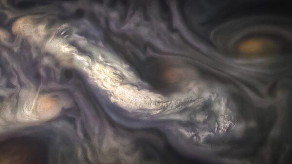 Mraky v atmosféře Jupiteru