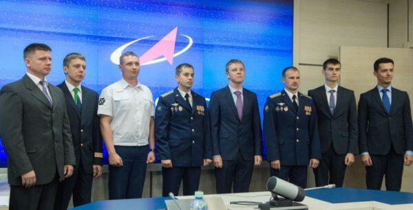 Nový kandidáti na kosmonauty Ruska