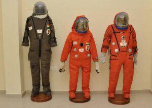 Skafandry pro indické astronauty