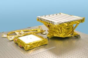 Americký přístroj M3 (Moon Mineralogy Mapper) z indické sondy Chandrayaan-1.