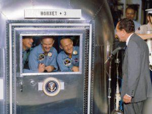 Posádka Apolla 11.