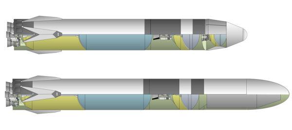 Rané vizualizace systému BFR od Dmitrije Voroncova.