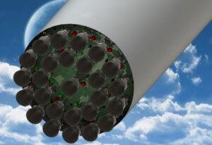 Představa velkého množství motorů Raptor na prvním stupni rakety BFR - vizualizaci vytvořil uživatel fóra nasaspaceflight s nickem Doesitfloat.