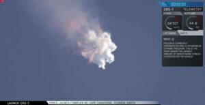 Havárie Falconu 9 při vynášení sedmé ostré zásobovací lodě Dragon k ISS.