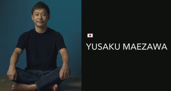 Japonský podnikatel Jusaku Maezawa.