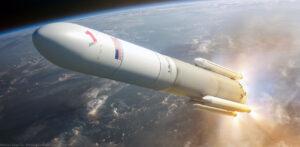 Takto ztvárnil start rakety Vulcan se čtyřmi urychlovacími bloky GEM-63XL Nathaniel Koga.