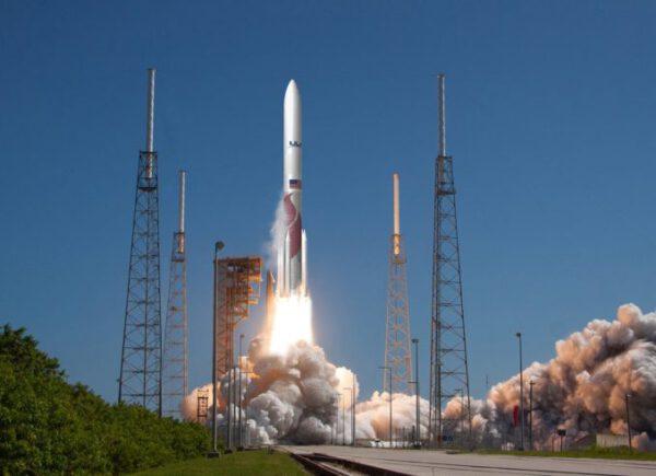 Vizualizace startující rakety Vulcan