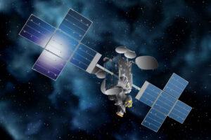 Vizualizace družice Telstar 18V