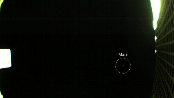 Mars z cubesatu