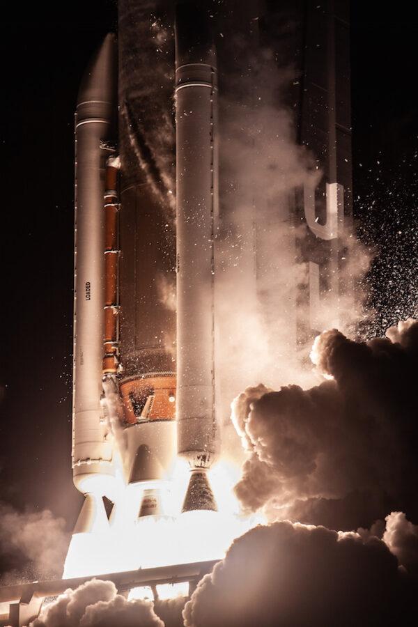 Detail motorové sekce nejsilnější verze Atlasu 5