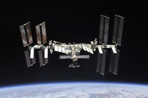 Mezinárodní vesmírná stanice ISS - Největší lidský výtvor mimo zemský povrch.