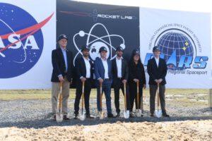 Stavba rampy LC-2 pro rakety Electron oficiálně začala.