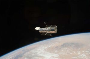 Hubble nad Zemí