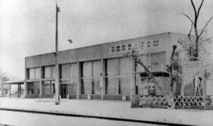 Železniční stanice Ťuratam v roce 1980
