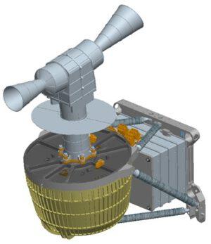 Přístroj STROFIO, který je součástí experimentu SERENA.