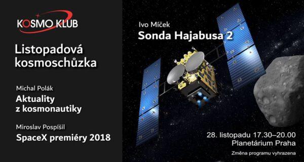 Pozvánka na listopadovou kosmoschůzku zdroj: kosmo klub z.s.