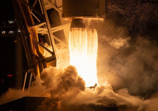Motory RD-181 na raketě Antares 230