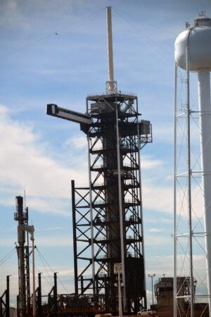 Věž na rampě 39A.