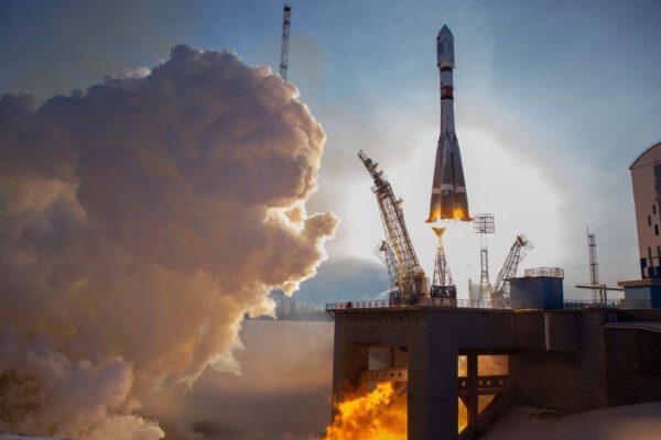 Start Sojuzu 2-1A z Vostočného