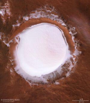 Koroljov ze sondy Mars Express
