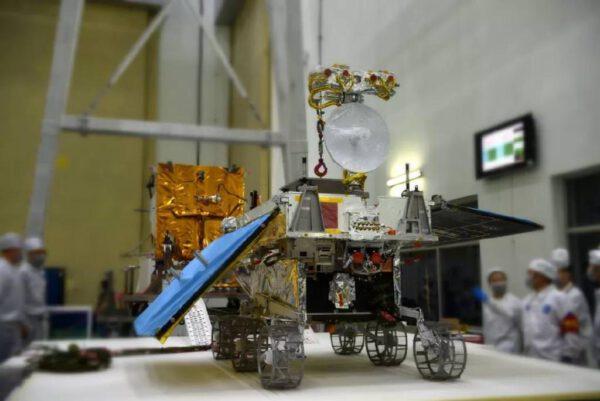 Měsíční vozítko během příprav