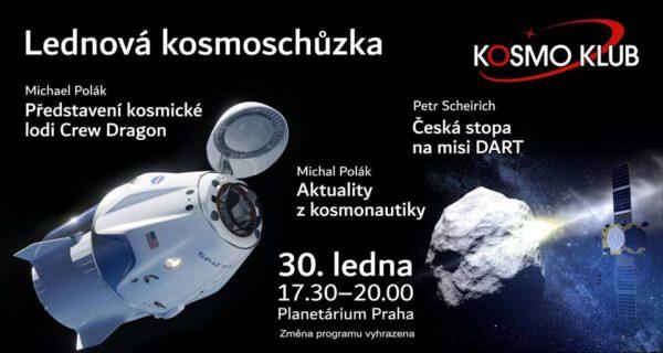 Pozvánka na lednovou kosmoschůzku zdroj: kosmo klub z.s.