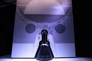Vizualizace motoru Vinci během prezentace.