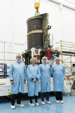 Eutelsat Quantum během stavby