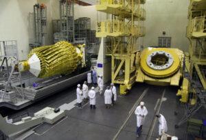 Příprava na start radioteleskopu Spektr-R.