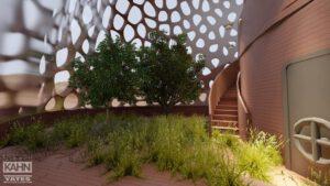 Tým Kahn-Yates si jako partnera zvolil architektonickou kancelář Albert Kahn a je to na výsledku znát.